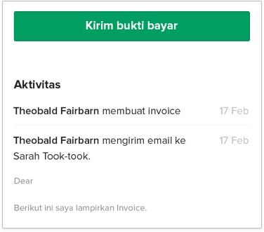 terima pembayaran