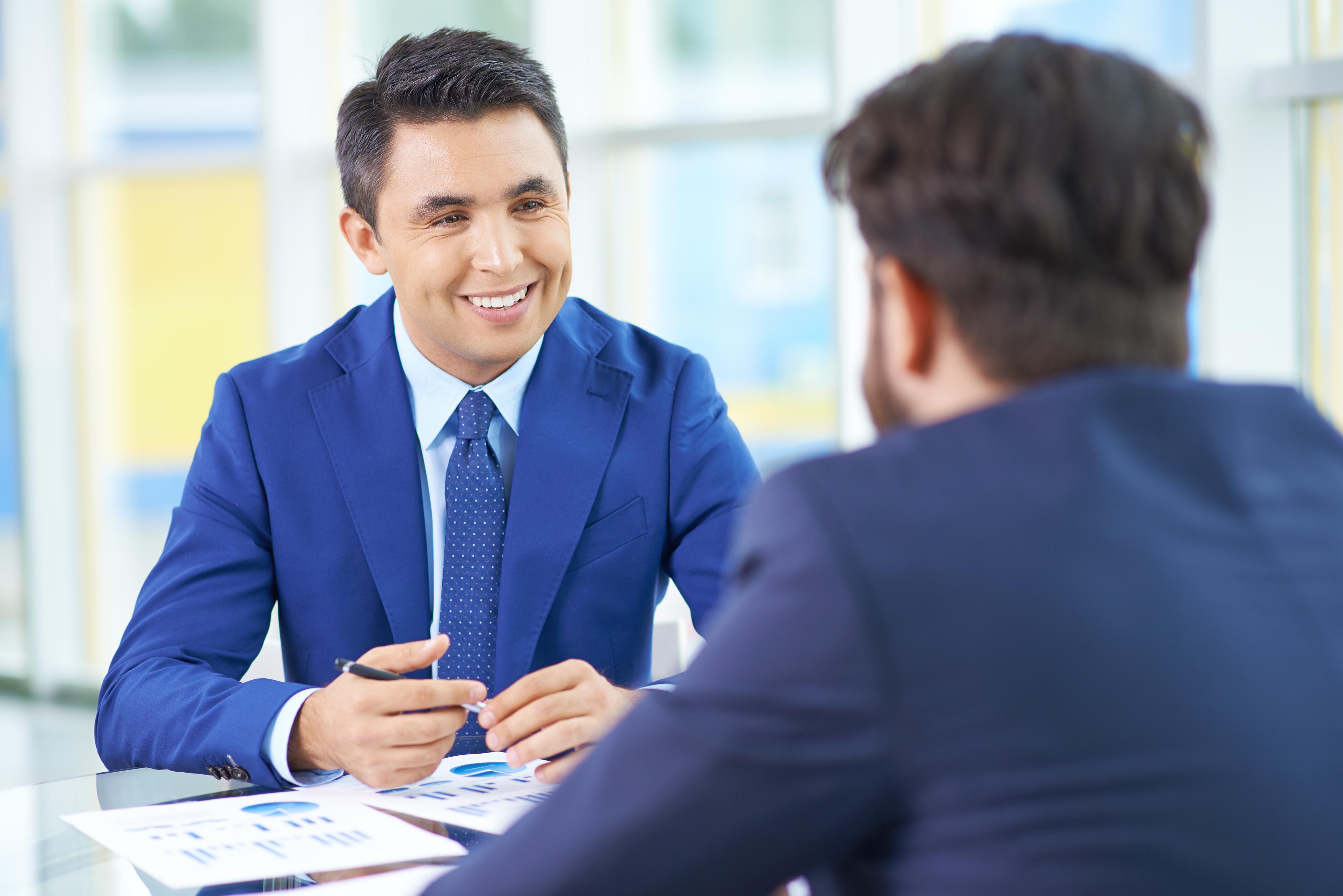 wawancara calon karyawan