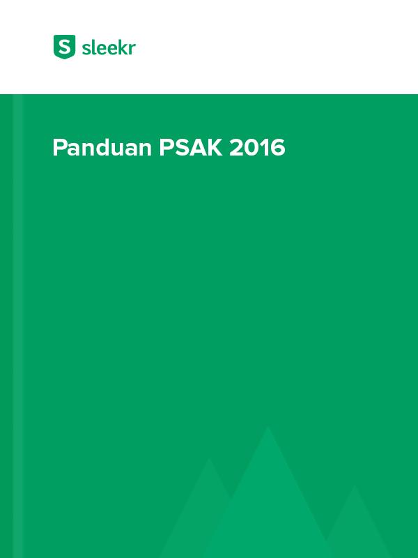 Panduan PSAK 2016