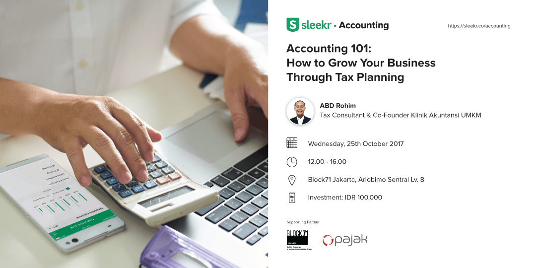 Accounting 101 : How To Grow Your Business Through Tax Planning