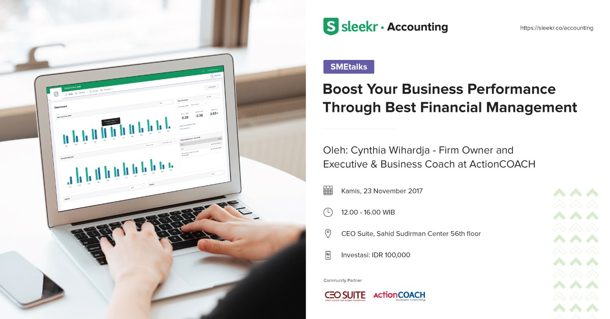 "SMETalks : ""Boost Your Business Performance through Financial Management"""
