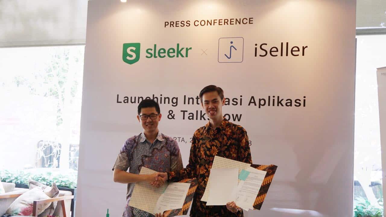[LAUNCHING] Integrasi Sleekr dan iSeller untuk Bisnis UKM dan Waralaba