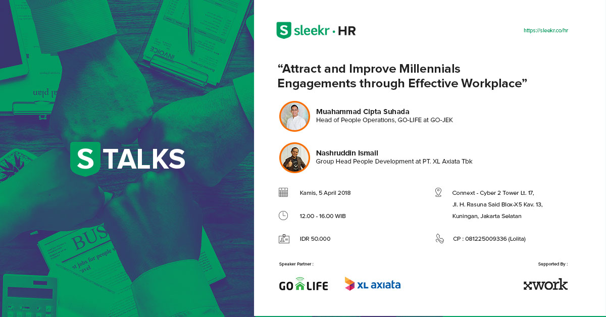 "STALKS – HR ""Attract and Improve Millennials Engagements Through Effective Workplace"""