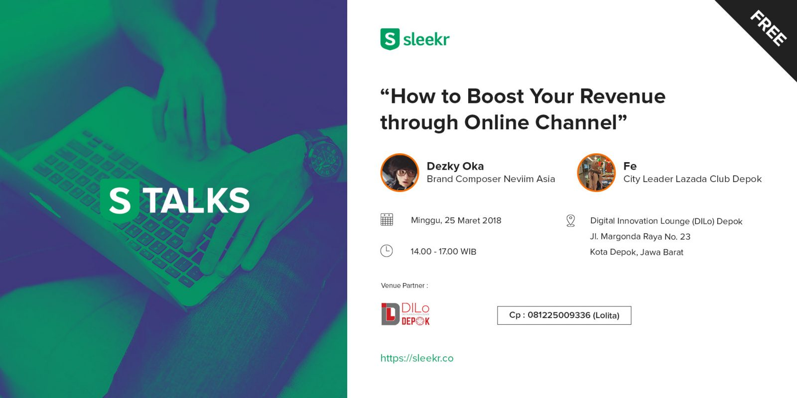 "[FREE] STALKS – Business ""How to Boost Your Revenue Through Online Channel"""