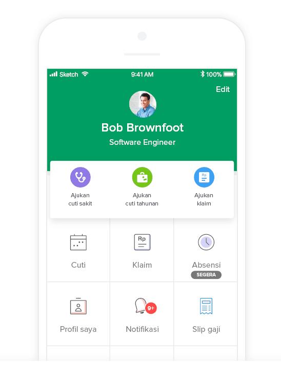 Software HR dengan Aplikasi Mobile Karyawan