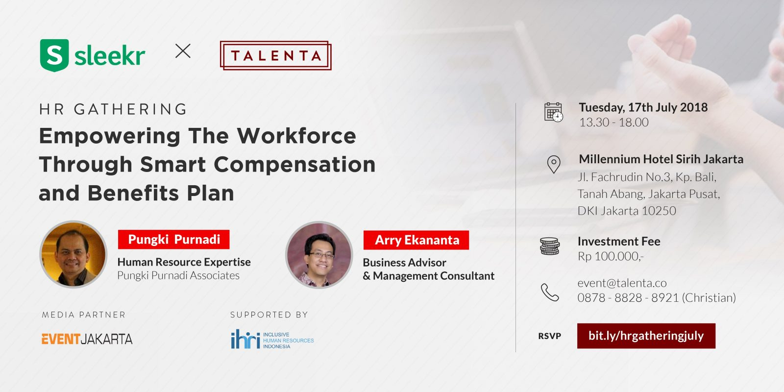 HR Gathering: Empowering The Workforce Through Smart Compensation and Benefits Plan
