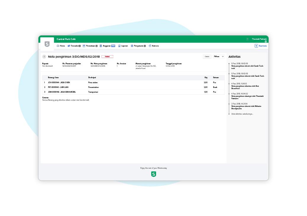 Software Invoice Dan Faktur Pajak Sleekr Accounting