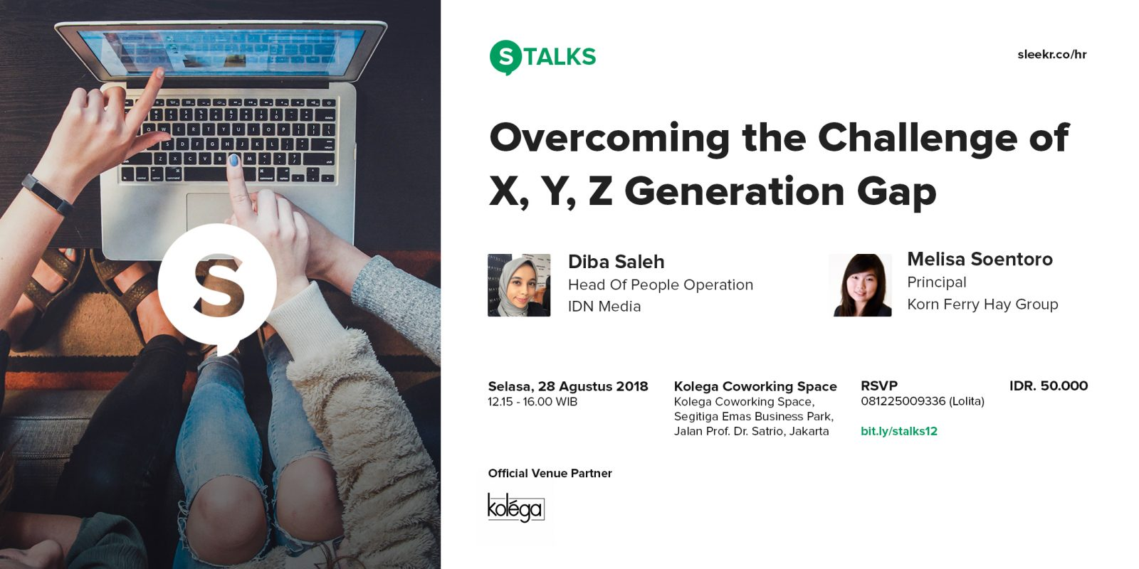 S-TALKS Overcoming the Challenge of X, Y, Z Generation Gap