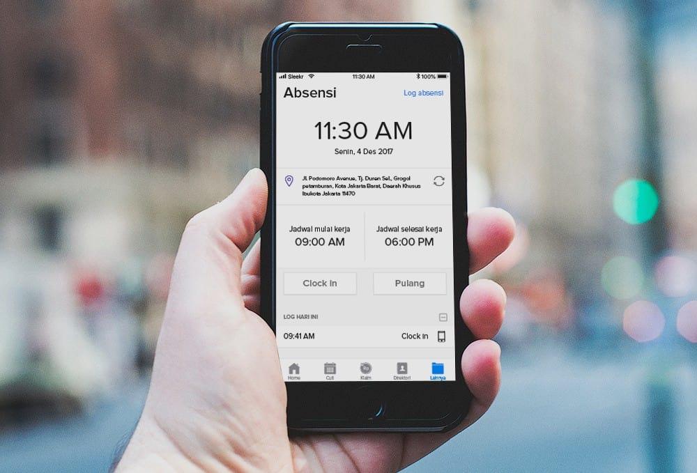 Pengaruh Penggunaan Aplikasi Absensi untuk Perkemb …