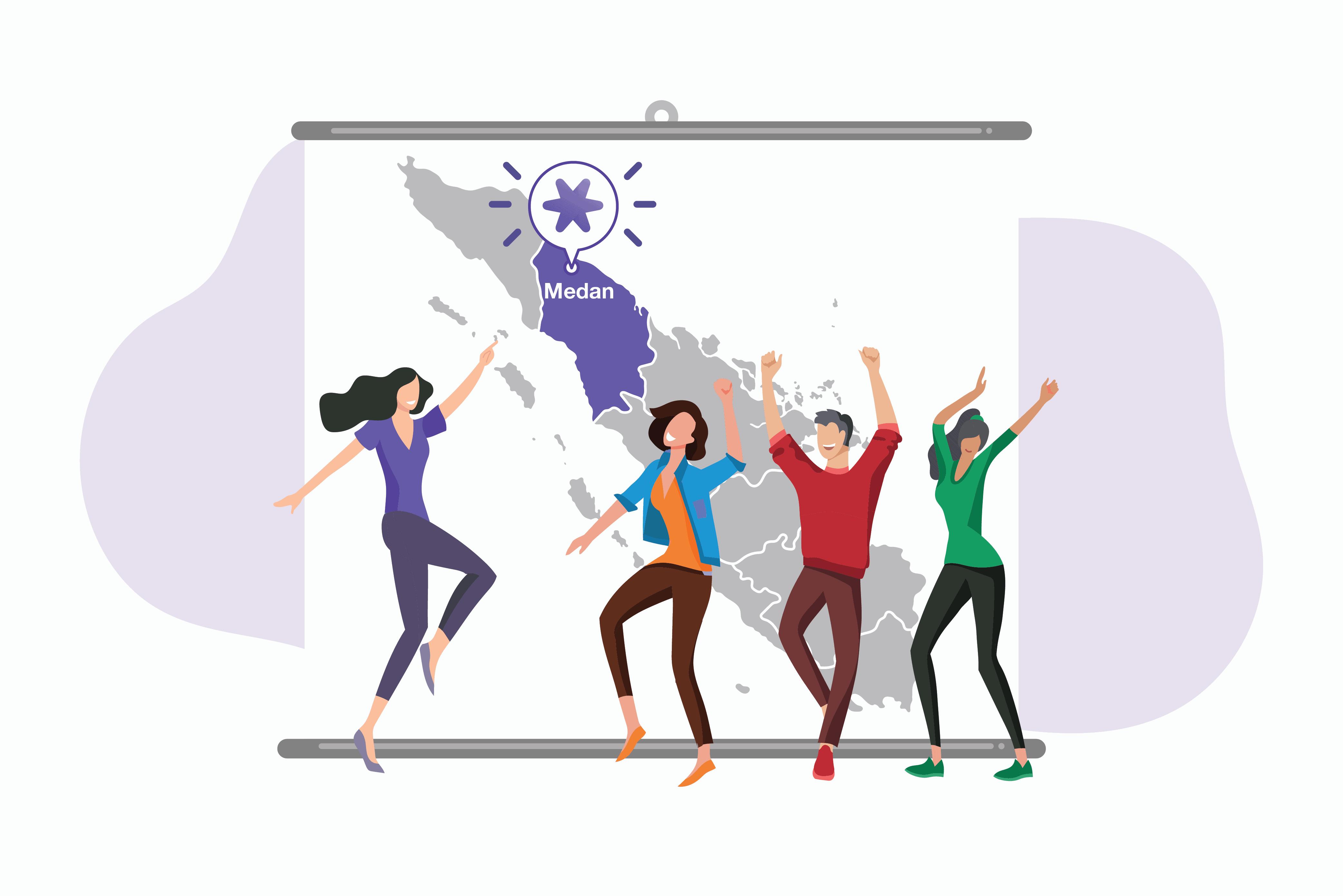 Mekari Hadir di Kota Medan untuk Bantu UKM Lebih Maju & Berkembang